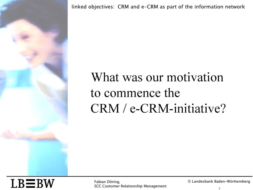 commence the CRM