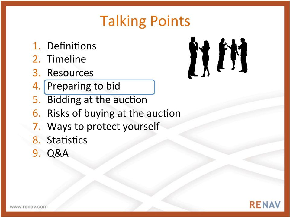Bidding at the auc3on 6.