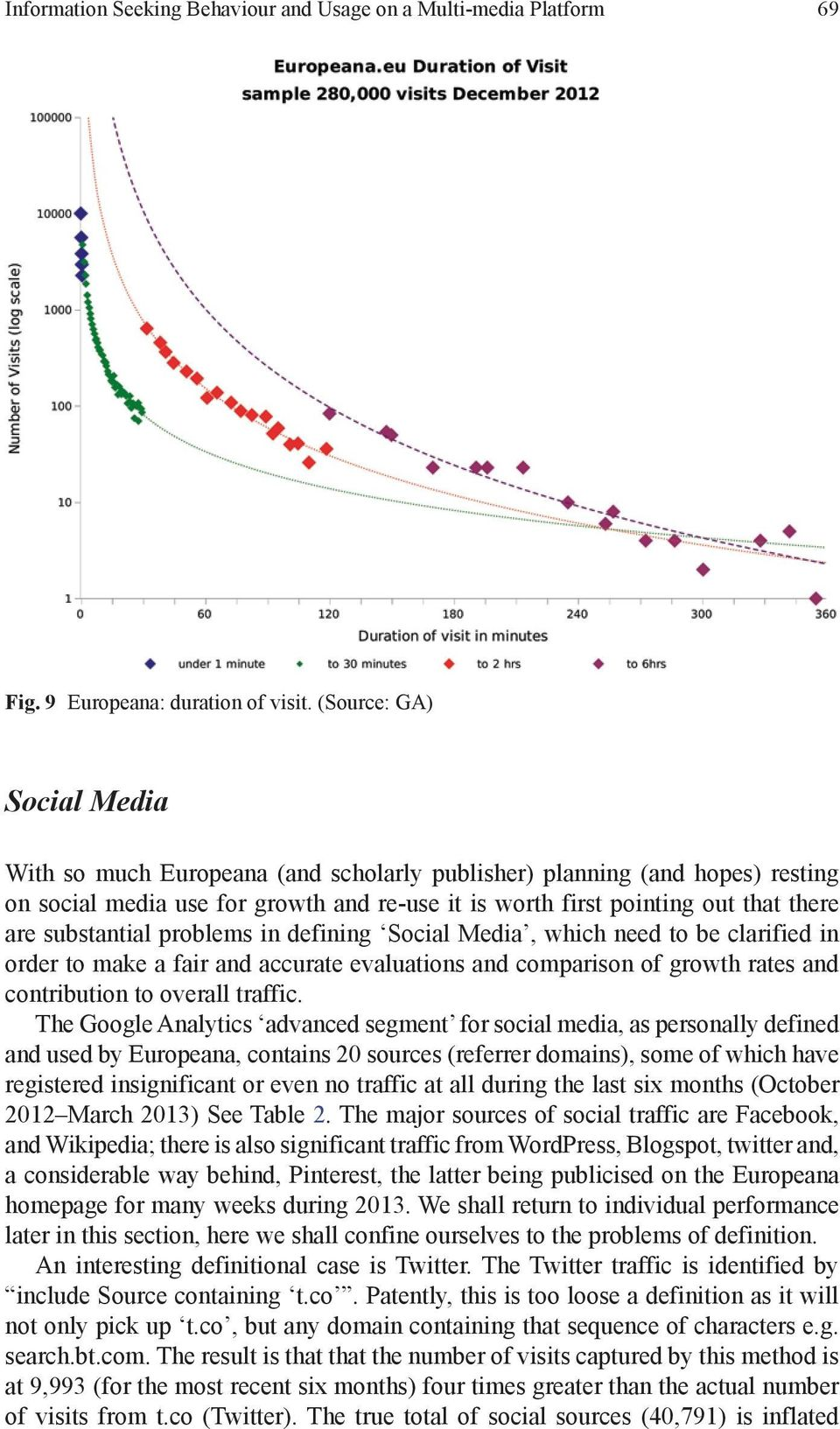 substantial problems in defining Social Media, which need to be clarified in order to make a fair and accurate evaluations and comparison of growth rates and contribution to overall traffic.
