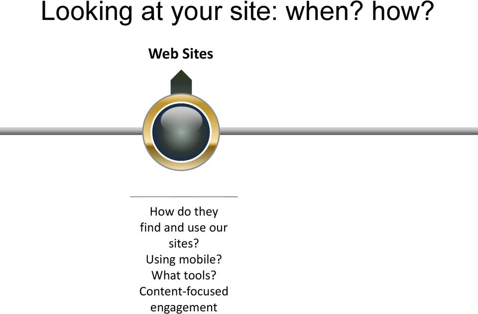 use our sites? Using mobile?