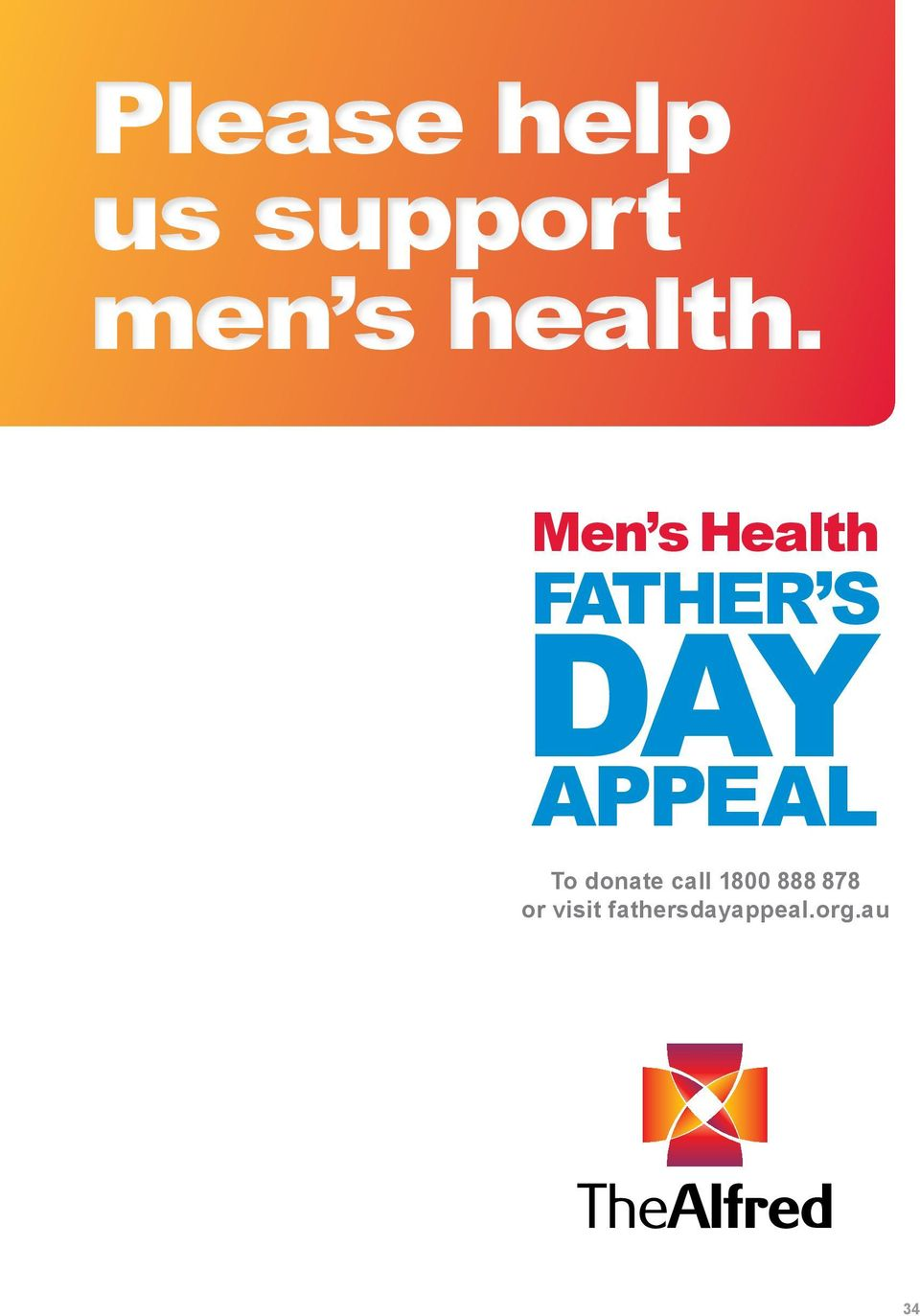 Men s Health FATHER S DAY APPEAL