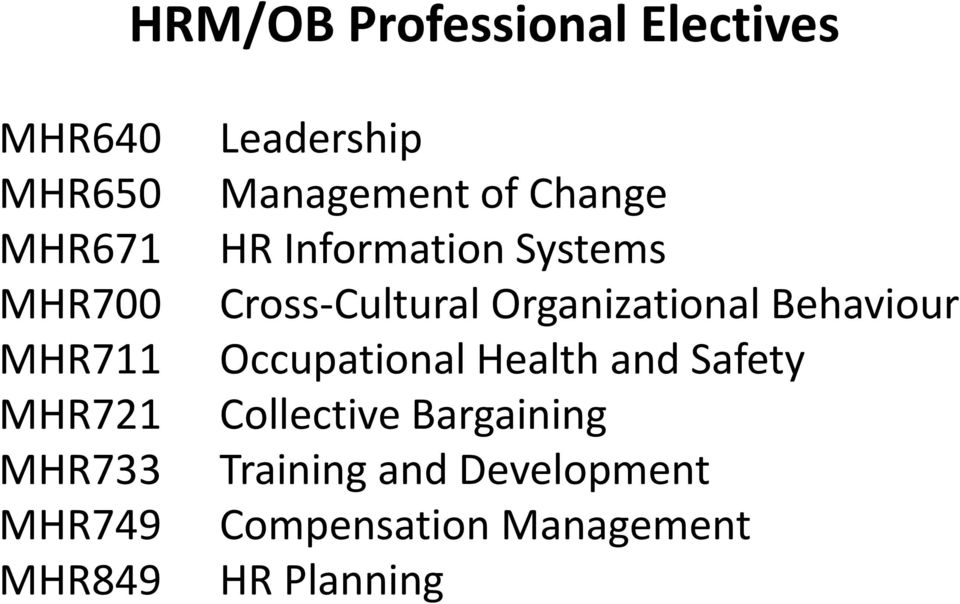 Cross-Cultural Organizational Behaviour Occupational Health and Safety