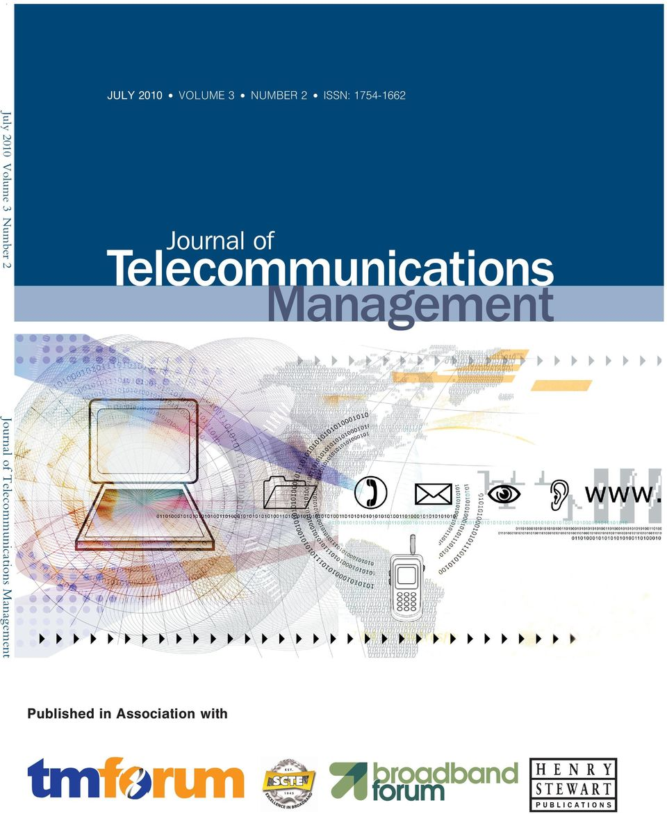 Bhave 123 Mobile telephony diffusion in Indonesia: Case study of the big three operators Muhammad Suryanegara and Kumiko Miyazaki 130 Entry of Mobile Virtual Network Operators (MVNOs) in India: A
