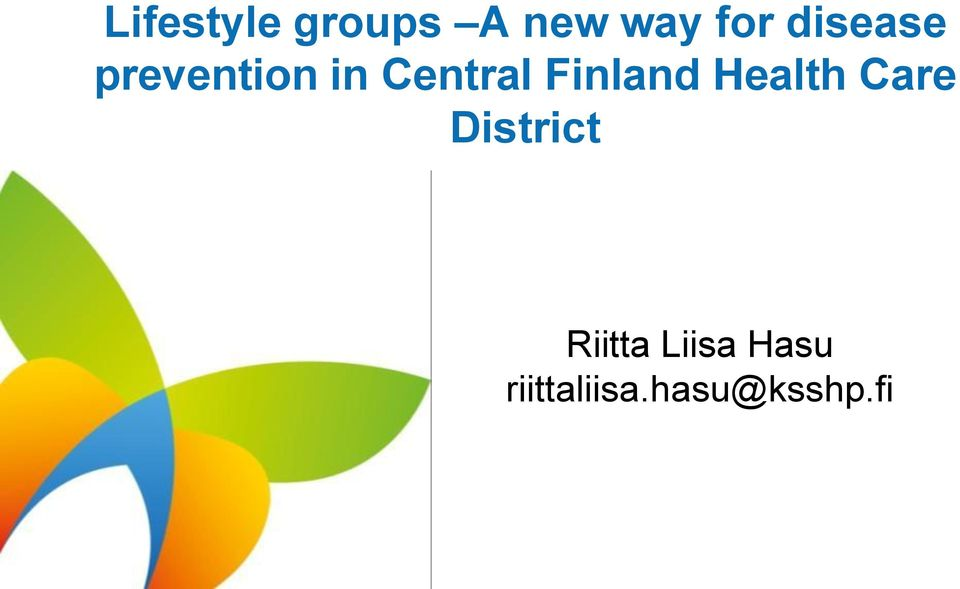 Finland Health Care District