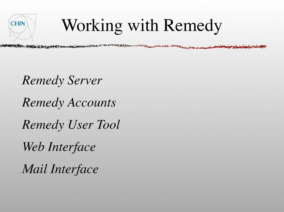 Accounts Remedy User