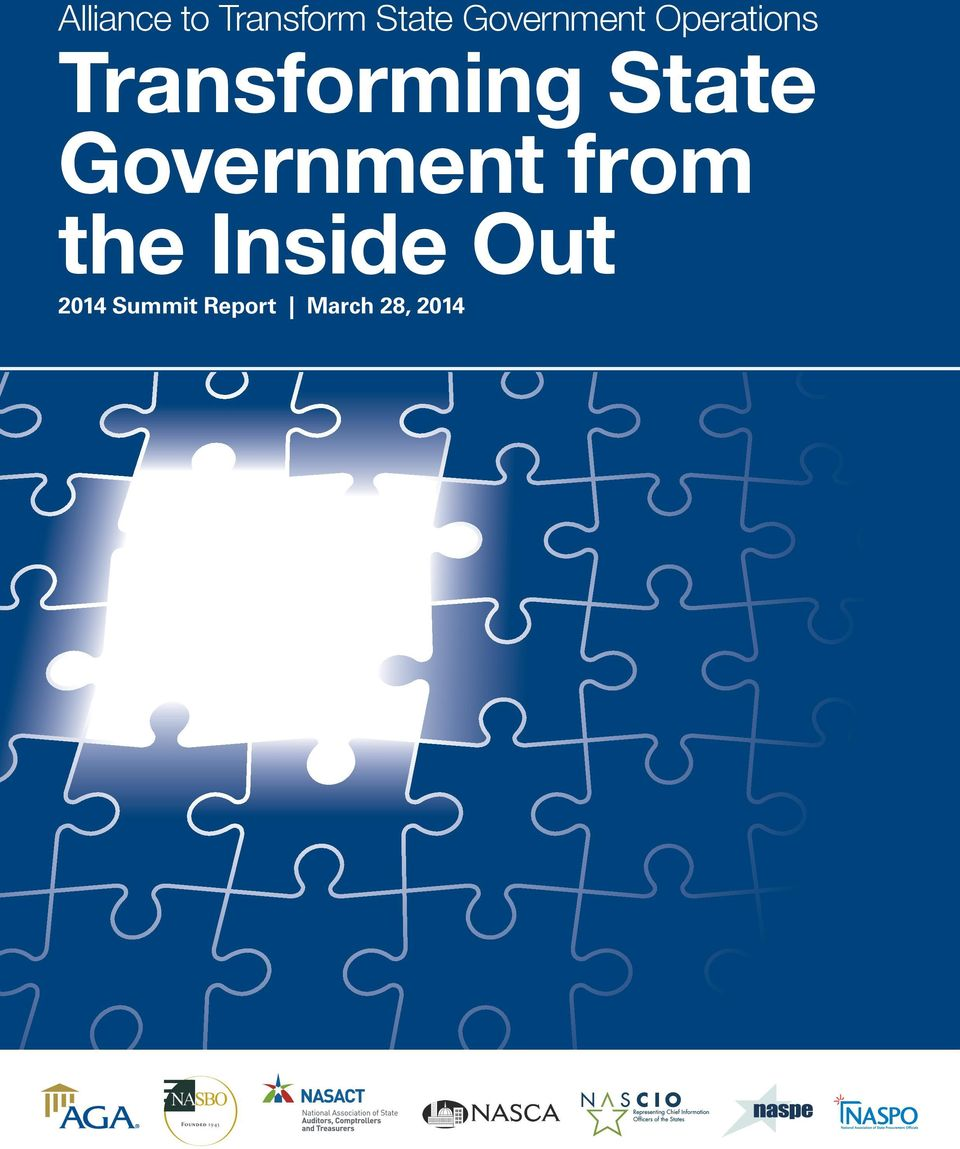 State Government from the Inside Out