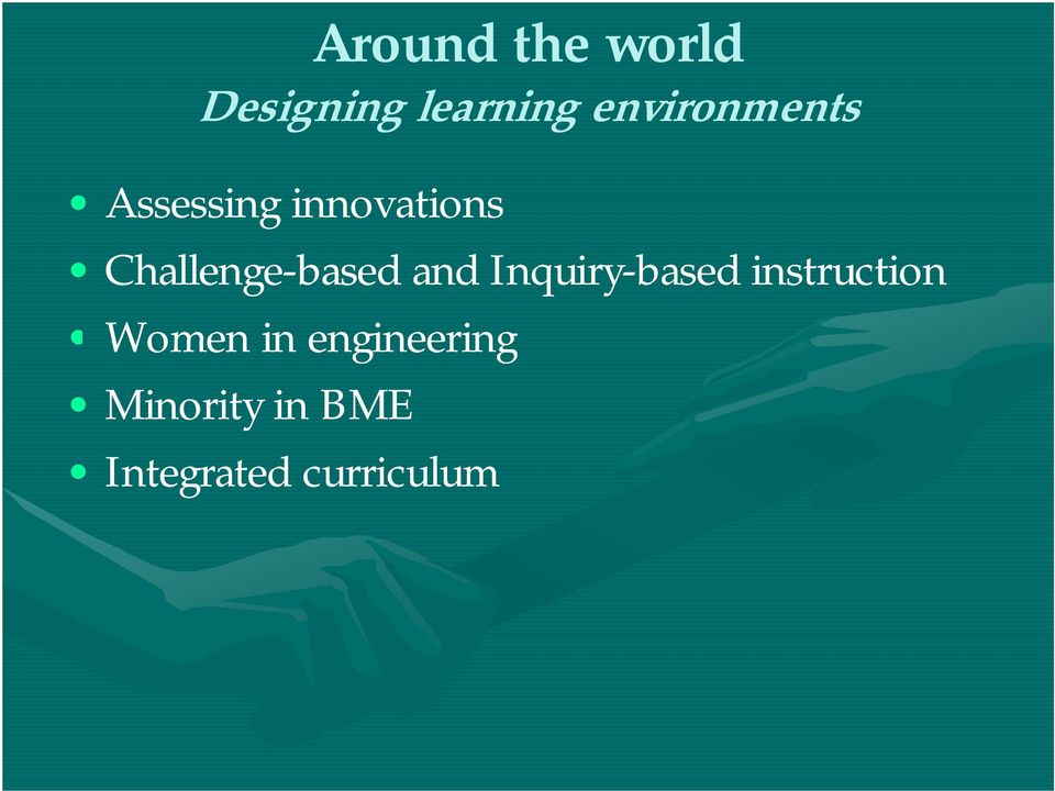 Challenge-based and Inquiry-based