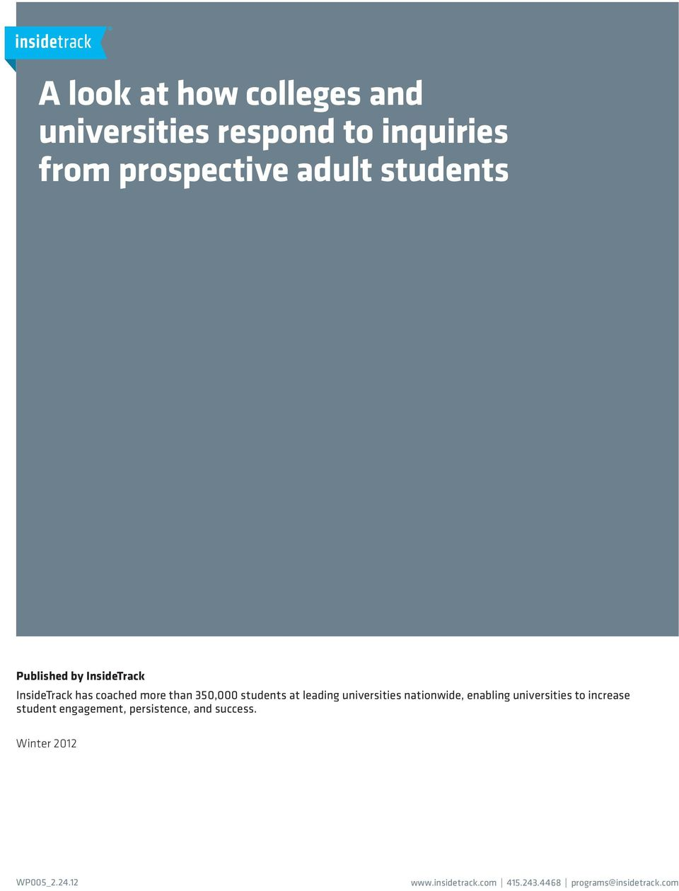 leading universities nationwide, enabling universities to increase student engagement,