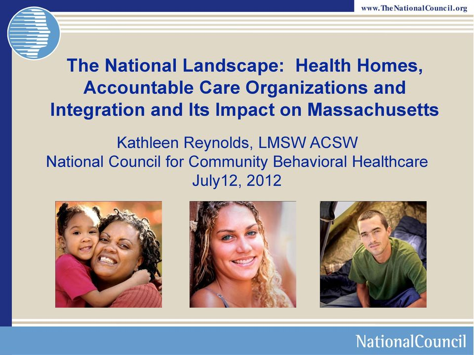 Massachusetts Kathleen Reynolds, LMSW ACSW National