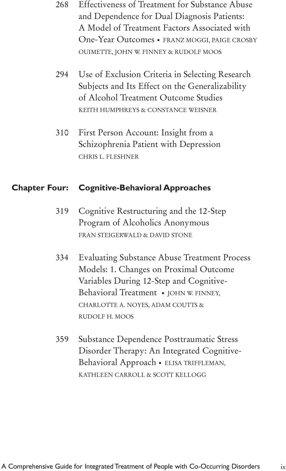 310 First Person Account: Insight from a Schizophrenia Patient with Depression CHRIS L.