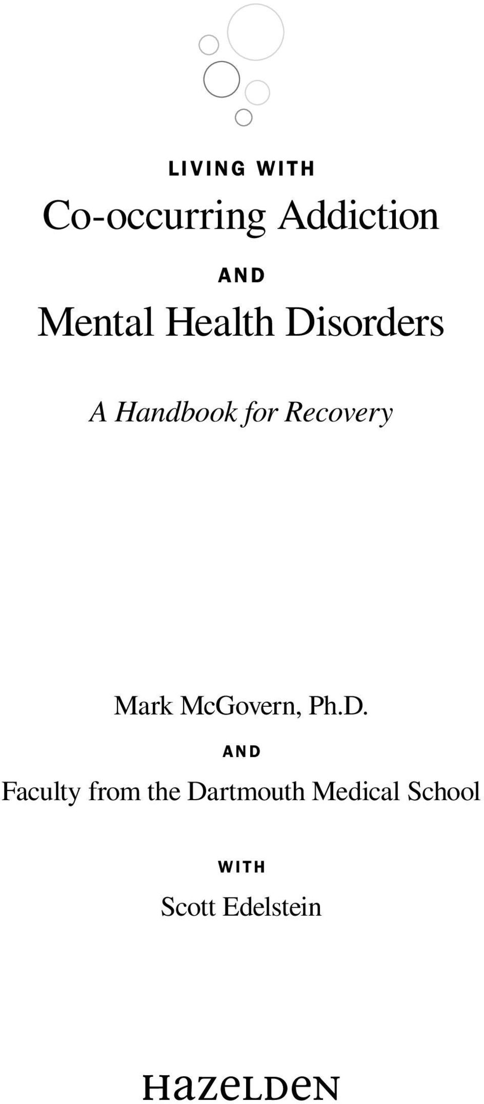 Recovery Mark McGovern, Ph.D.