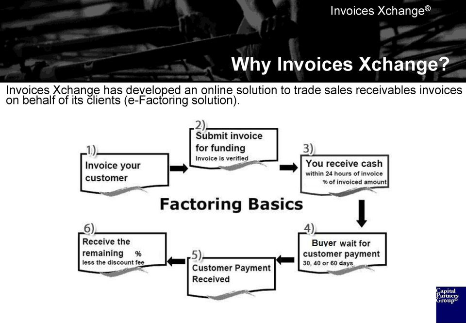 receivables invoices on behalf of