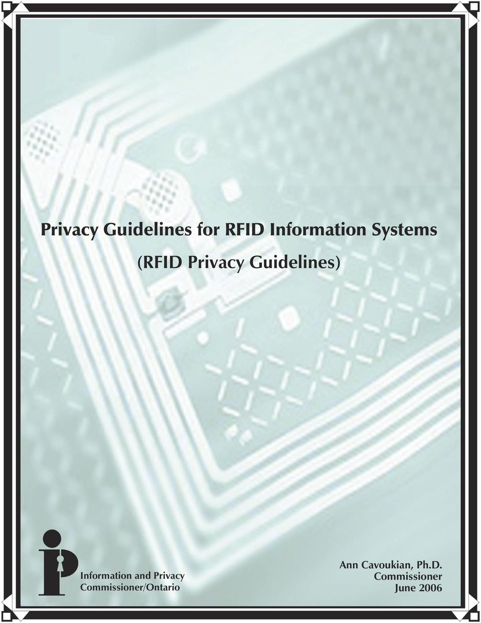 Guidelines) Information and Privacy