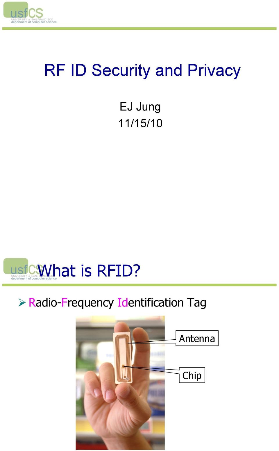 RFID?! Radio-Frequency