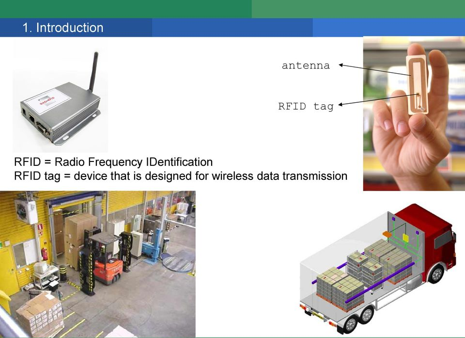 IDentification RFID tag = device