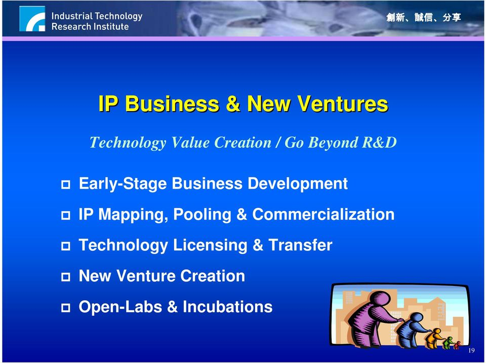 Mapping, Pooling & Commercialization Technology