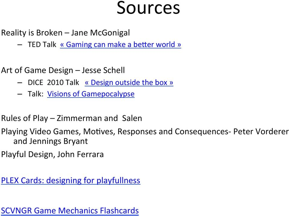 Zimmerman and Salen Playing Video Games, MoSves, Responses and Consequences- Peter Vorderer and