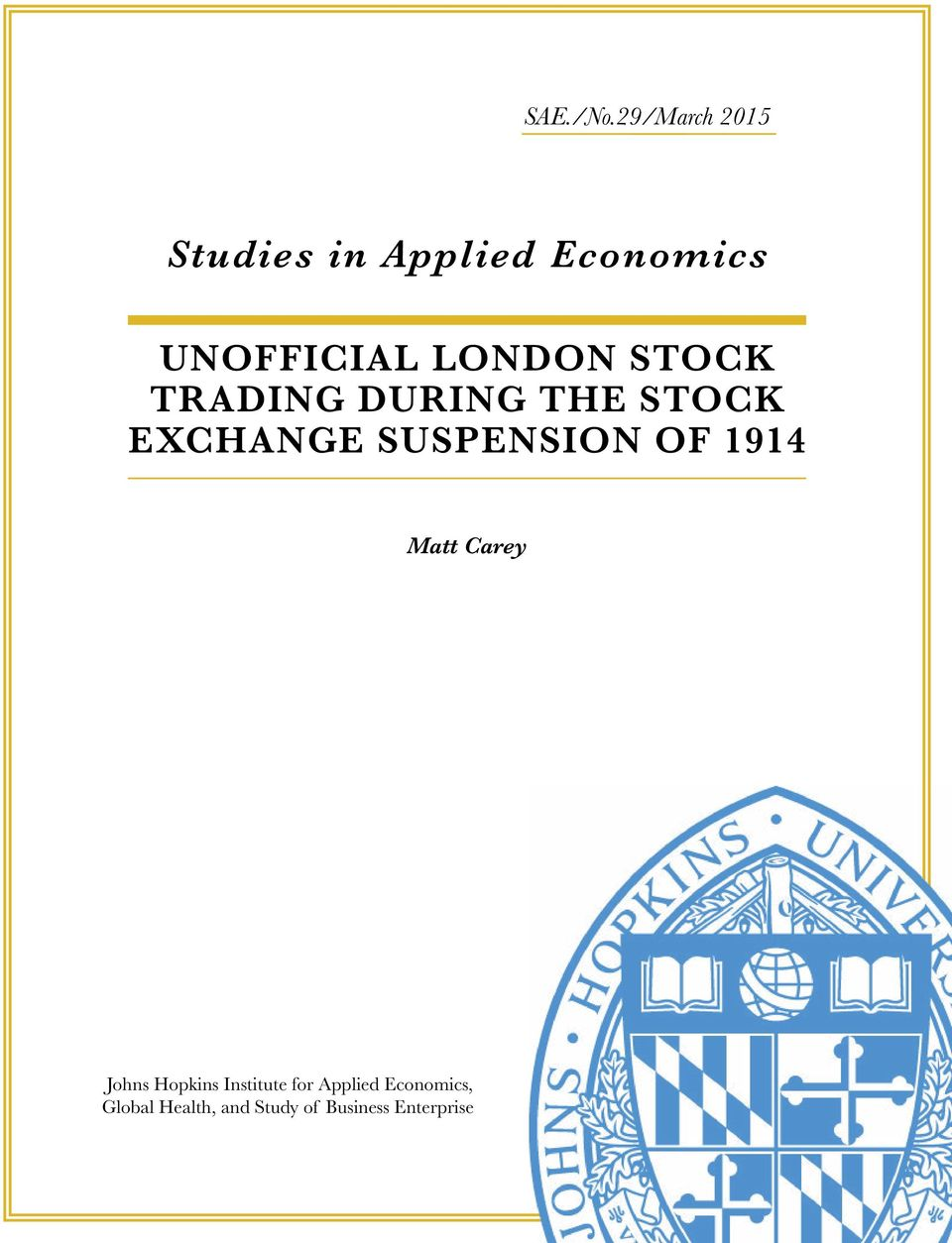 london Stock trading during the Stock exchange SUSpenSion