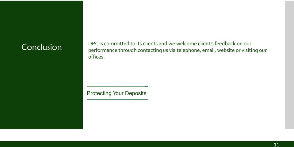 through contacting us via telephone, email,