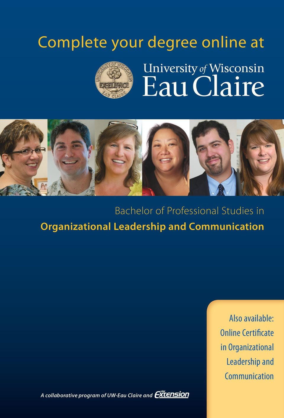 available: Online Certificate in Organizational Leadership