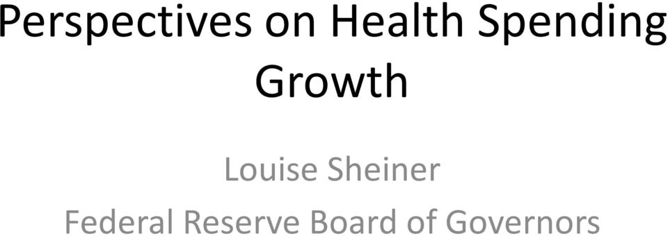 Growth Louise Sheiner