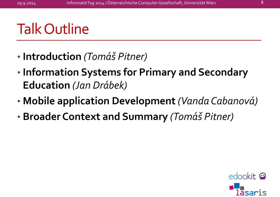Systems for Primary and Secondary Education (Jan Drábek) Mobile