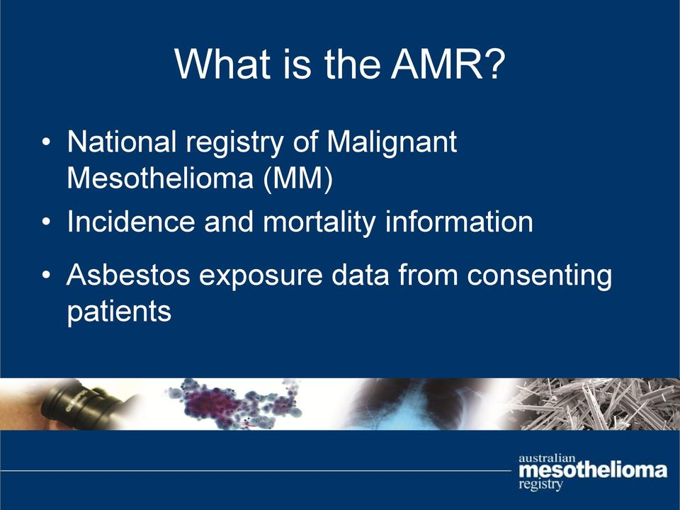 cases Mesothelioma (MM) Incidence and
