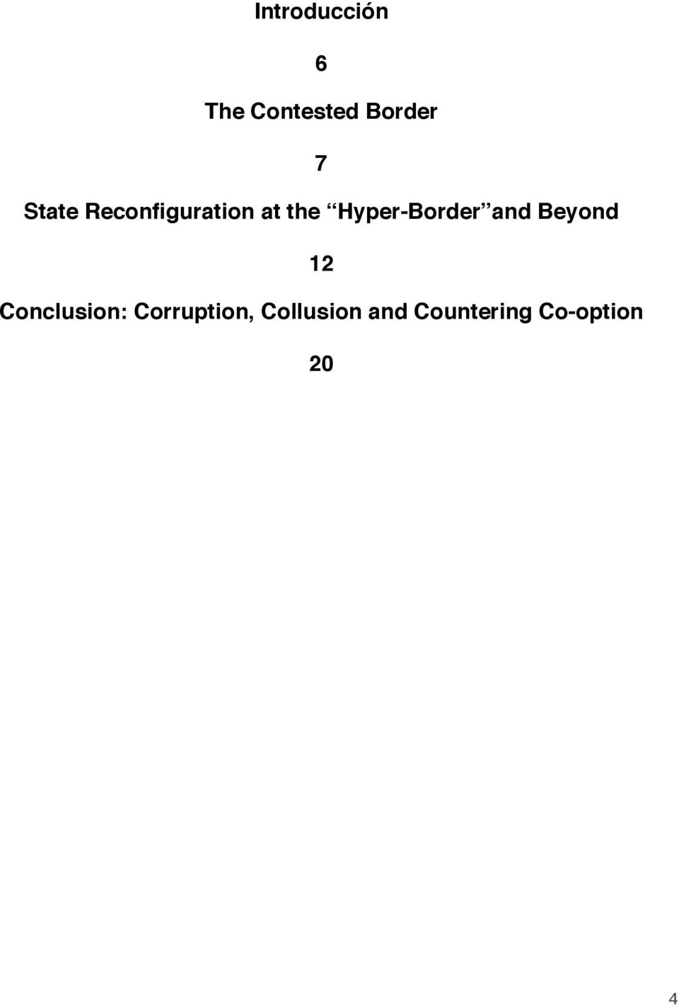 Hyper-Border and Beyond 12 Conclusion: