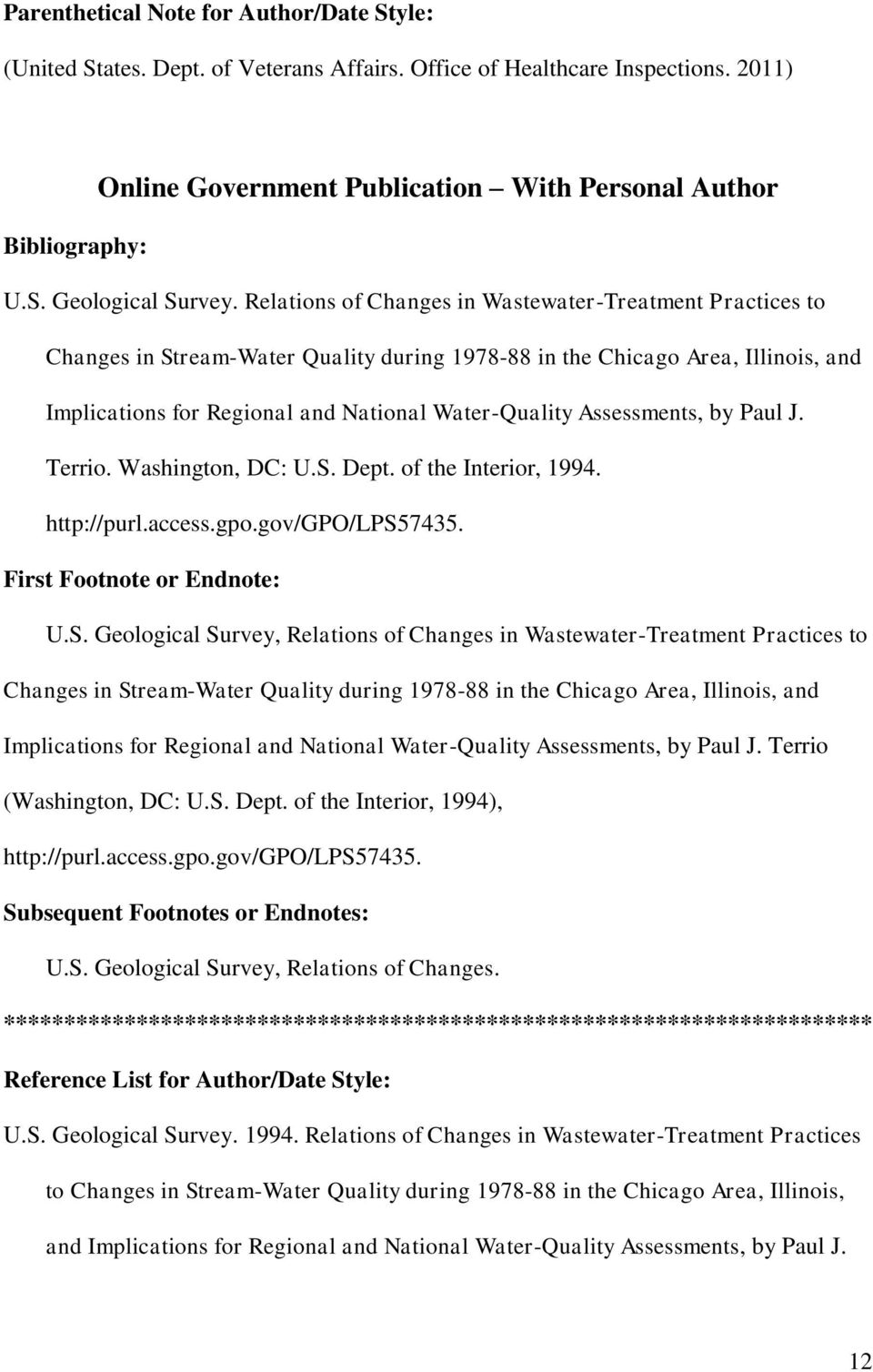 Assessments, by Paul J. Terrio. Washington, DC: U.S. Dept. of the Interior, 1994. http://purl.access.gpo.gov/gpo/lps57435. U.S. Geological Survey,  Assessments, by Paul J. Terrio (Washington, DC: U.S. Dept. of the Interior, 1994), http://purl.