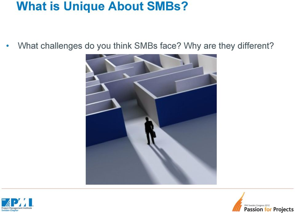 do you think SMBs face?