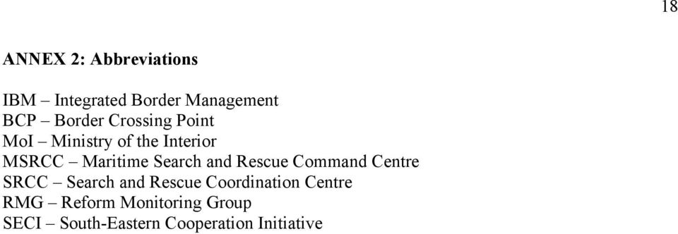 Search and Rescue Command Centre SRCC Search and Rescue Coordination