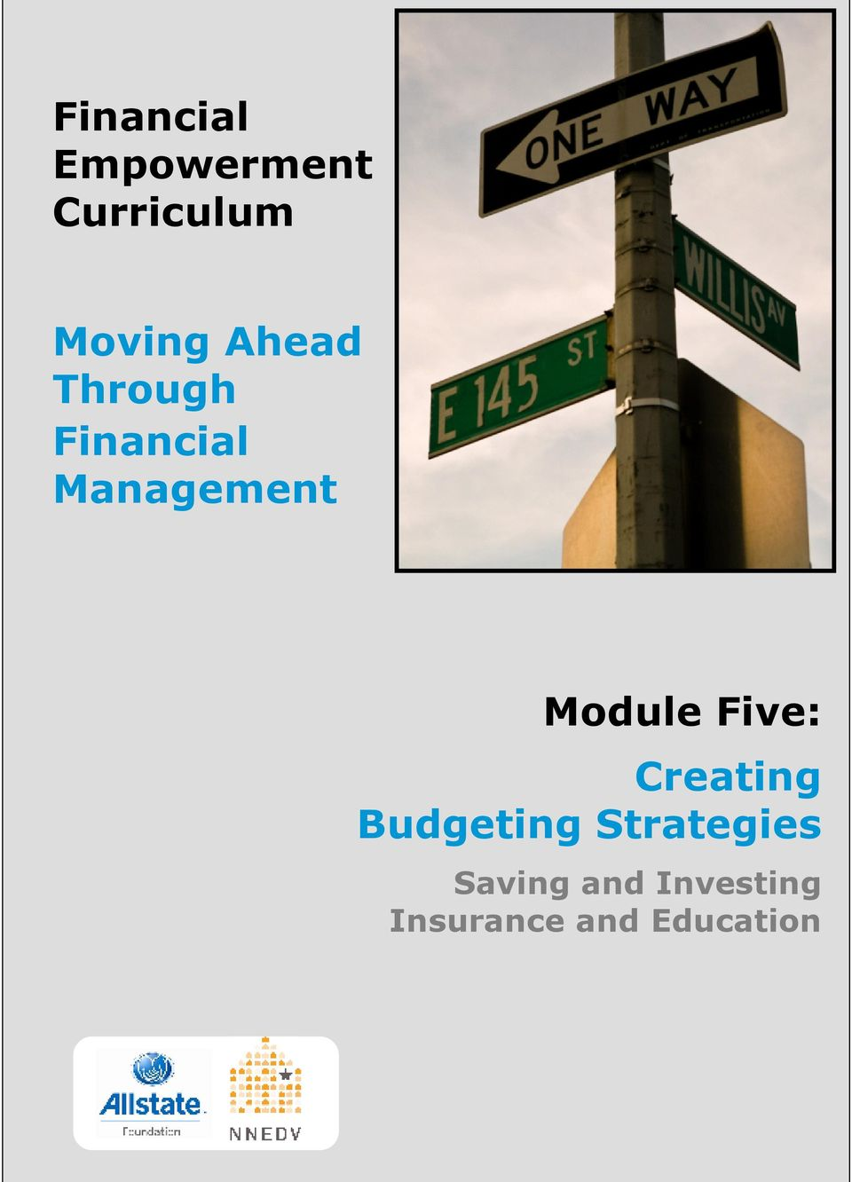 Module Five: Creating Budgeting