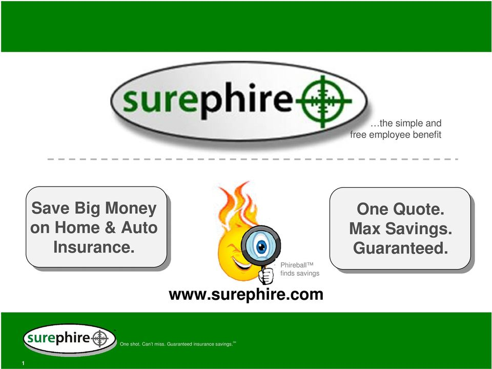 Phireball finds savings www.surephire.