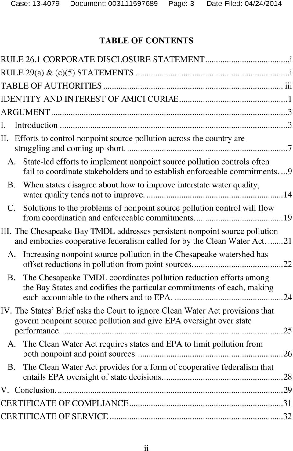 State-led efforts to implement nonpoint source pollution controls often fail to coordinate stakeholders and to establish enforceable commitments.... 9 B.