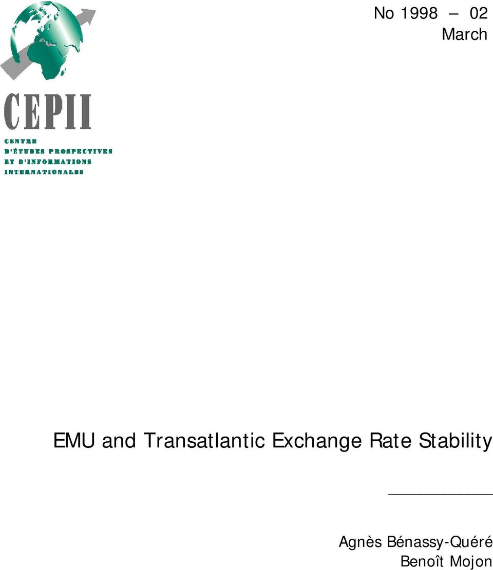 Exchange Rate Stability