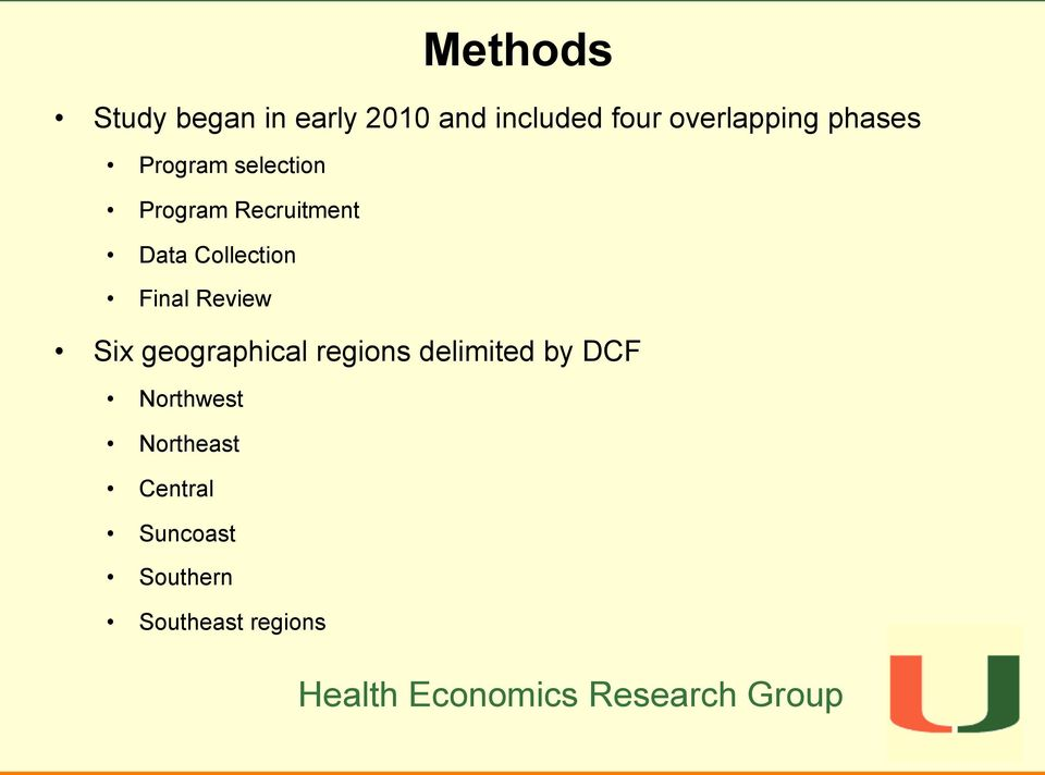 Data Collection Final Review Six geographical regions