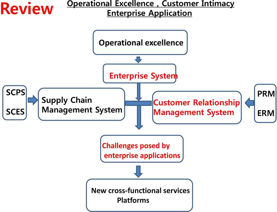 Management System Customer Relationship Management System PRM ERM