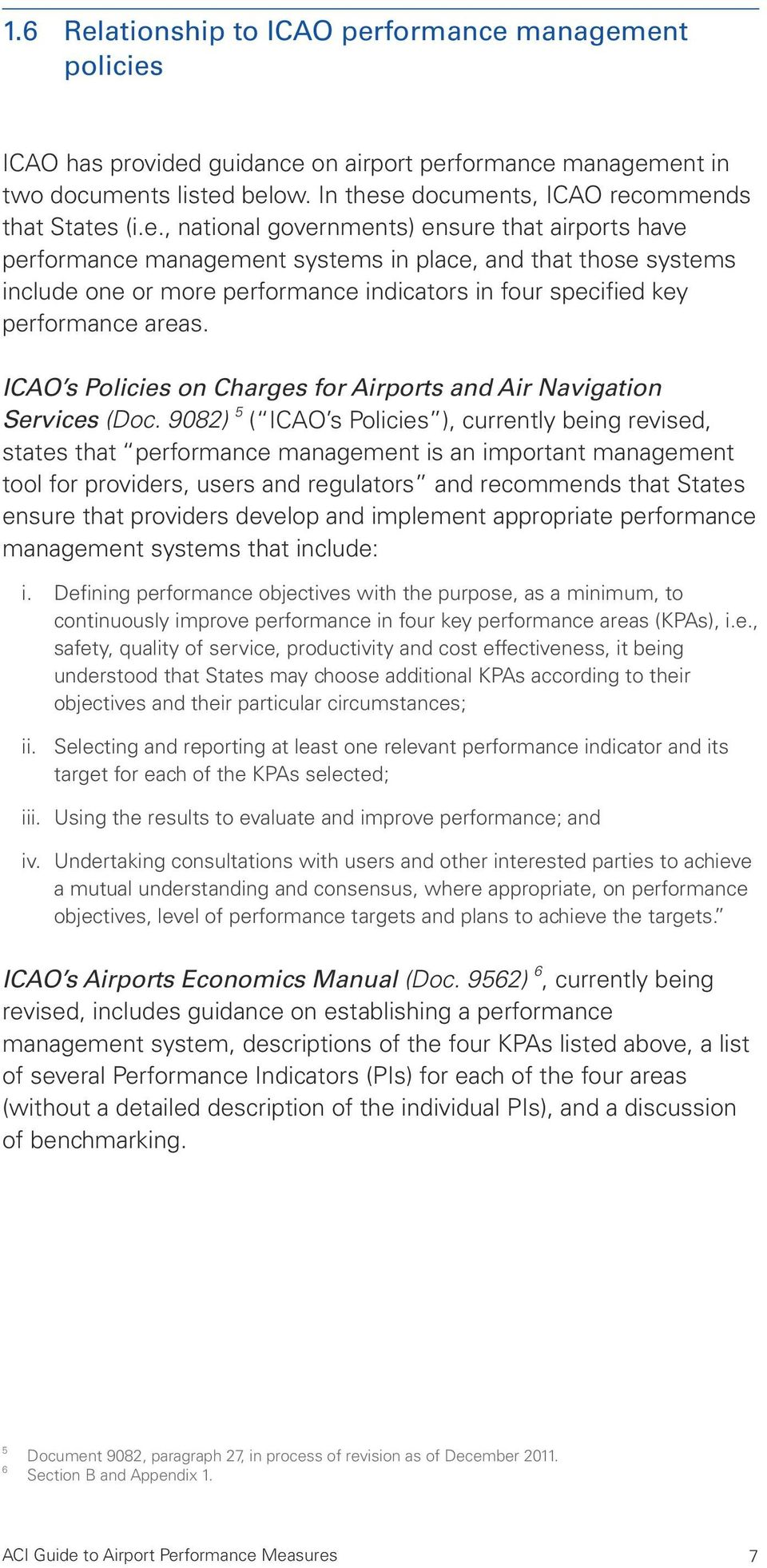 ICAO s Policies on Charges for Airports and Air Navigation Services (Doc.