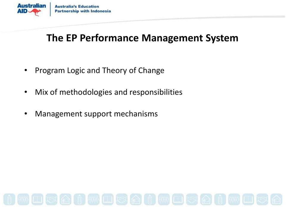 Change Mix of methodologies and
