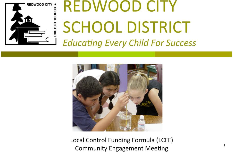 Success Local Control Funding