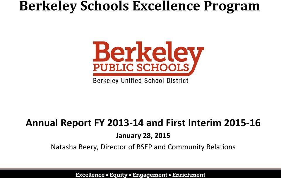 Interim 2015-16 January 28, 2015