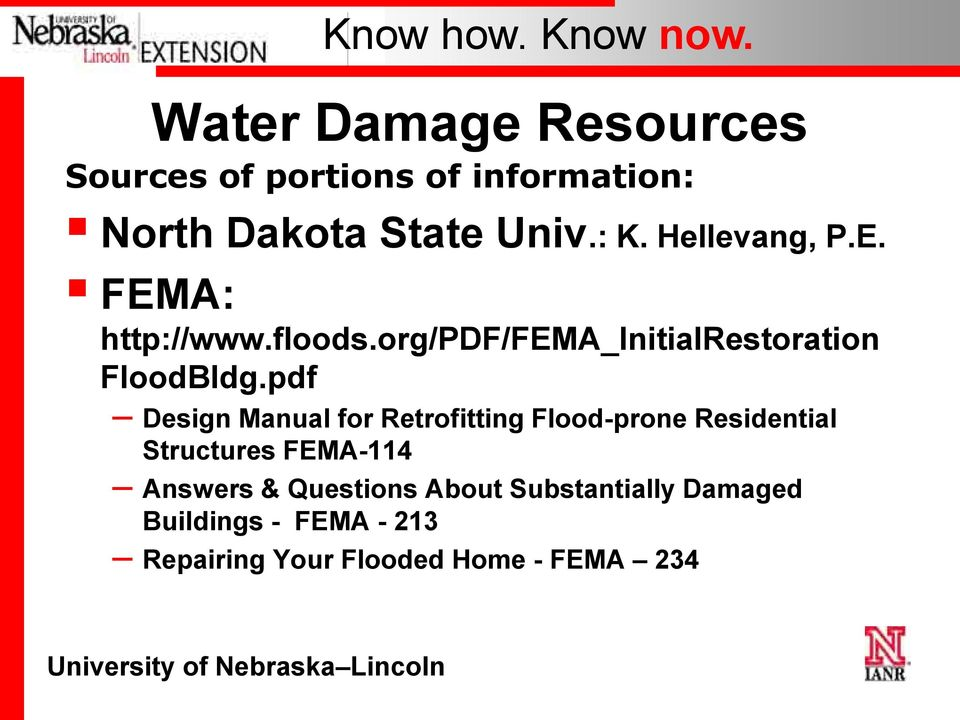 pdf Design Manual for Retrofitting Flood-prone Residential Structures FEMA-114 Answers &