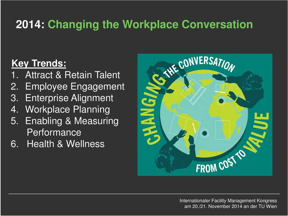 Employee Engagement 3. Enterprise Alignment 4.