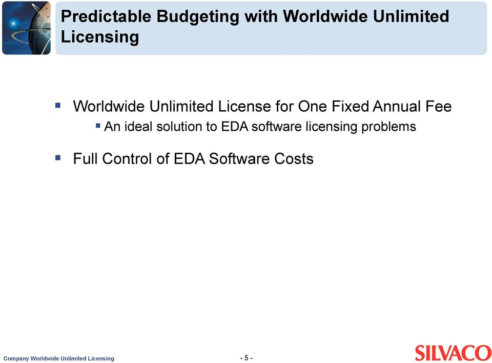ideal solution to EDA software licensing problems Full