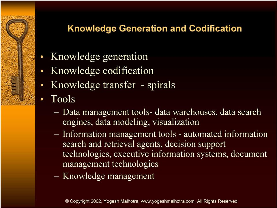 visualization Information management tools - automated information search and retrieval agents,