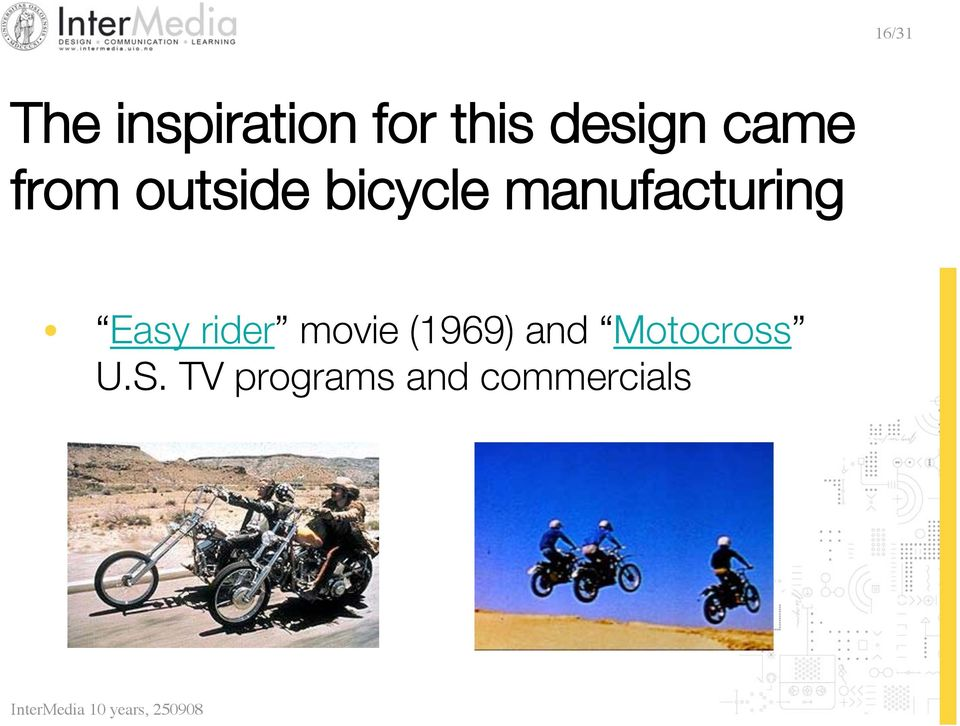 manufacturing Easy rider movie
