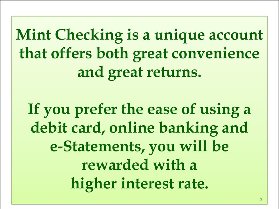 If you prefer the ease of using a debit card, online