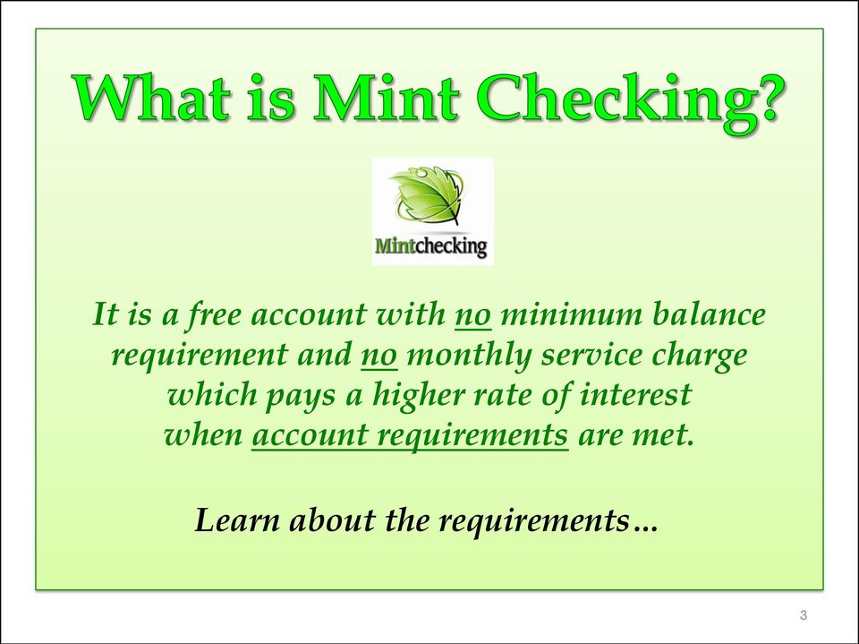 pays a higher rate of interest when account