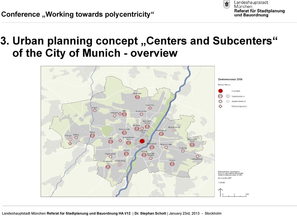 Subcenters of the
