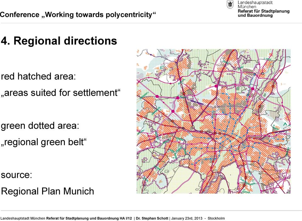 settlement green dotted area: